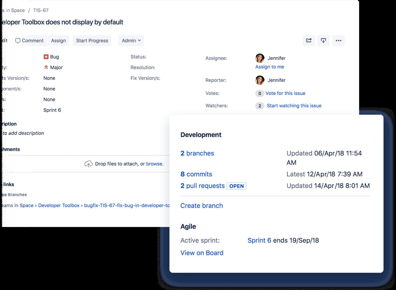 Jira Bitbucket Integration Atlassian Integrity Website Design Tome