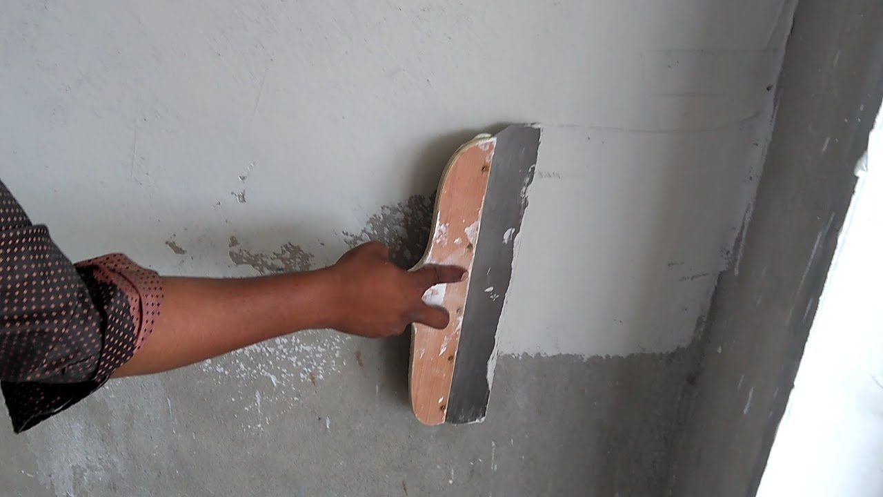 How To Apply Asian Paints Trucare Wall Putty Tools Asian Paints Wall Painting