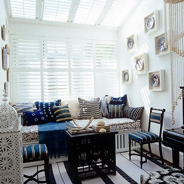 Our Favorite Blue and White Rooms!