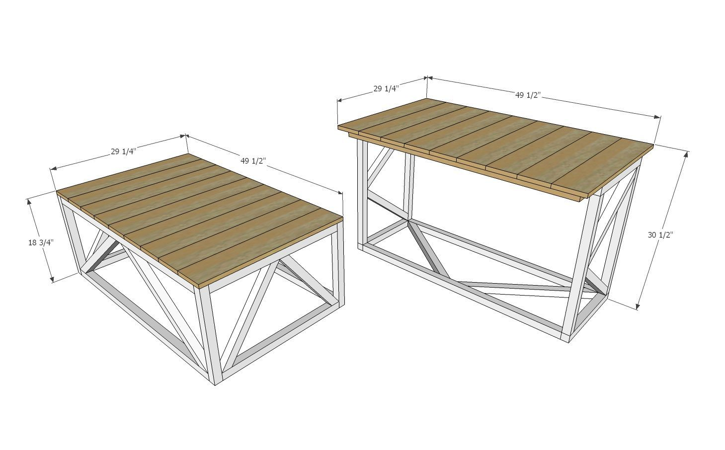 Diy Coffee Table That Converts To Dining Table Free Plans By Dining Tables Din In 2020 Coffee Table Convert To Dining Table Coffee Table Coffee Table To Dining Table
