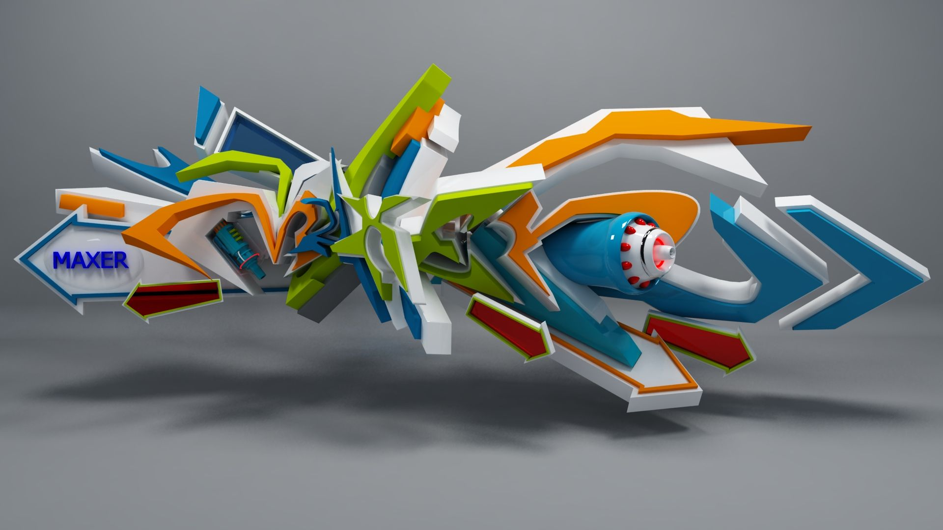 Maxer 3d graffiti by anhpham88 on deviantart via pincgcom