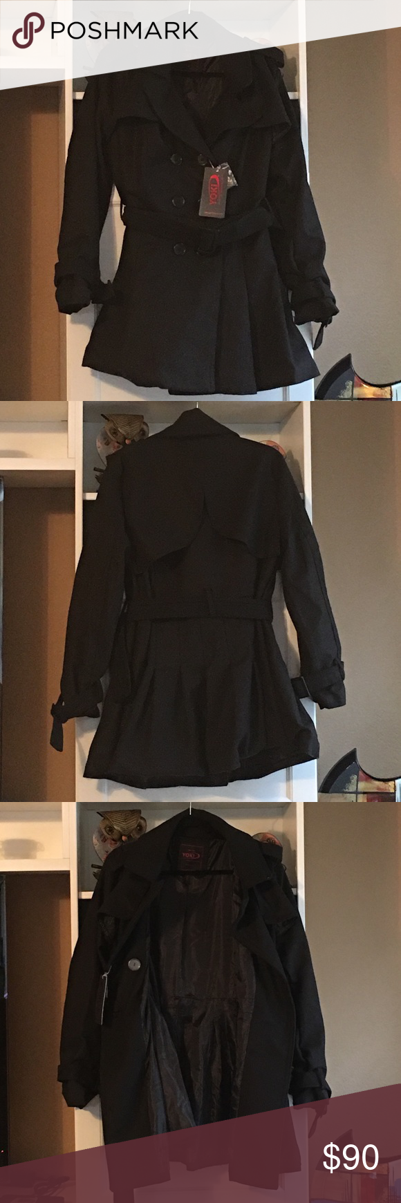 Yoki Outerwear Collection Coat 1 Extra Large Fits More Like An Extra Large 100 Polyester Dryclean Only Very Warm An Fashion Clothes Design Fashion Design [ 1740 x 580 Pixel ]