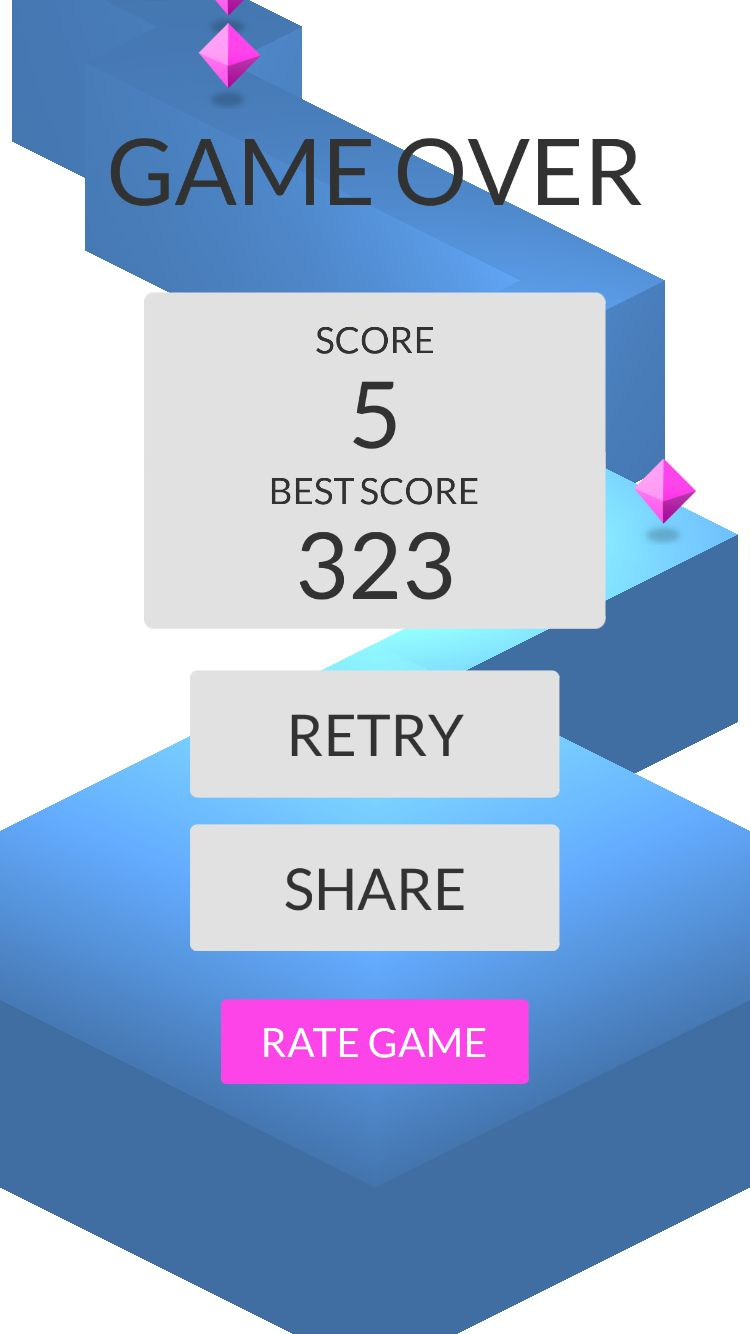 OMG! I made 5 zigzags playing #ZigZag https://itunes.apple.com/app/id951364656