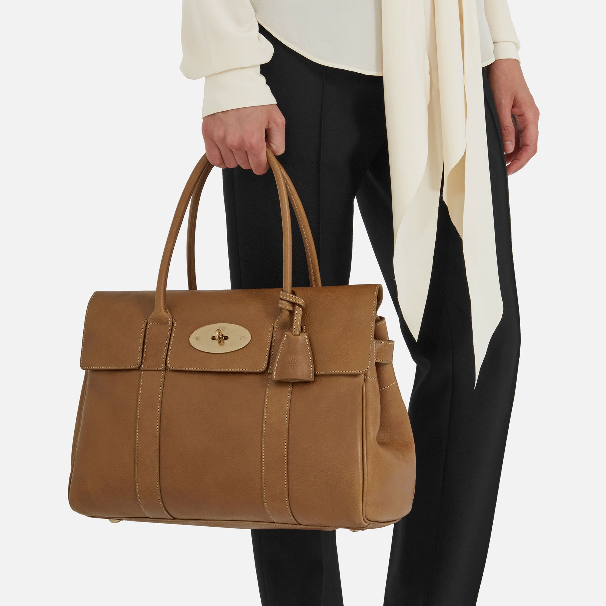 Heritage Bayswater   Oak Natural Leather   Women   Mulberry ... 42649db91b