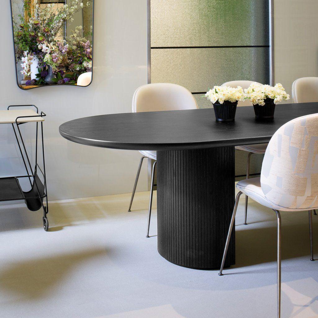 Moon Elliptical 258X101 Dining Table - Default Title