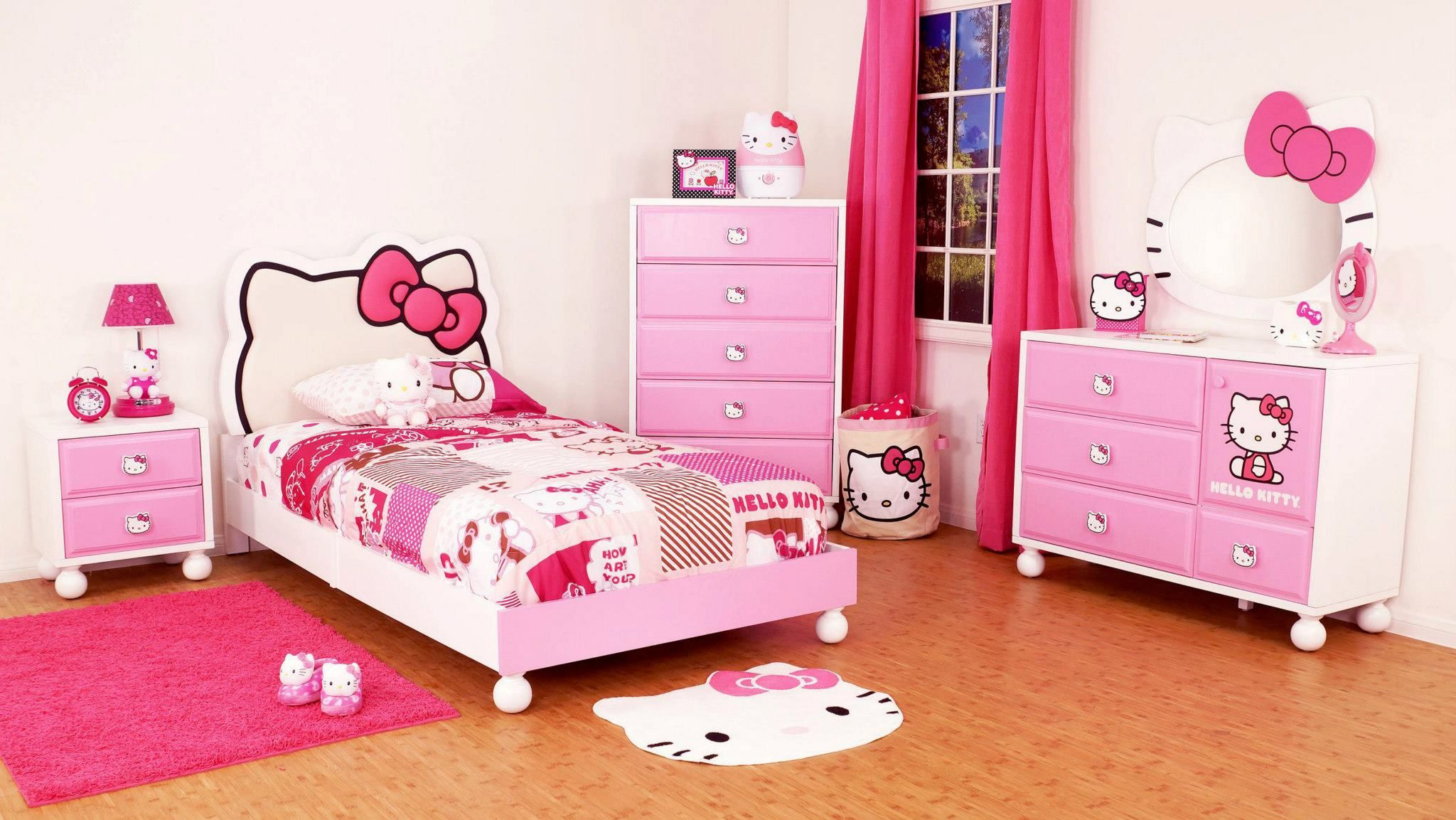 hello kitty bedroom - Google Search