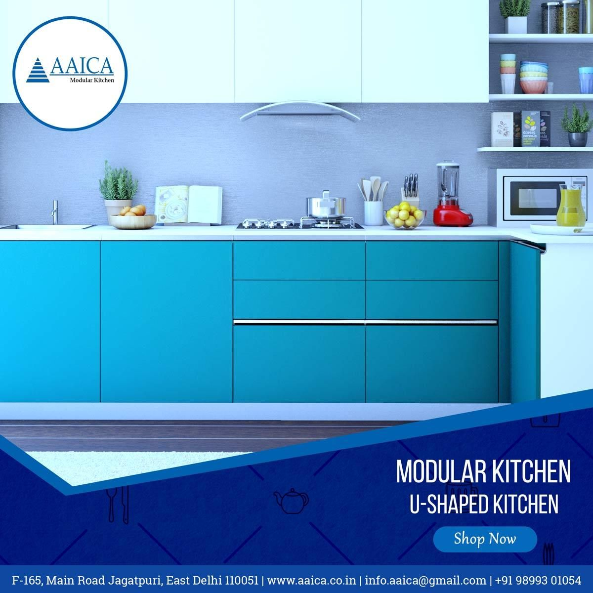 A kitchen is the heart of the home. Get a new modular kitchen at ...