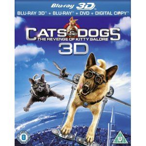 Cats And Dogs 2 Blu Ray 3d Region Free Amazon Co Uk Bette Midler Chris O Dog Cat Pets Movie Dog Movies