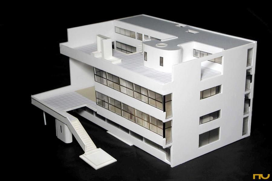 an analysis of the bauhaus notes on architecture The bauhaus movement:  gropius argued that architecture and design should reflect the new period in history (post world war i), and adapt to the era of the machine.