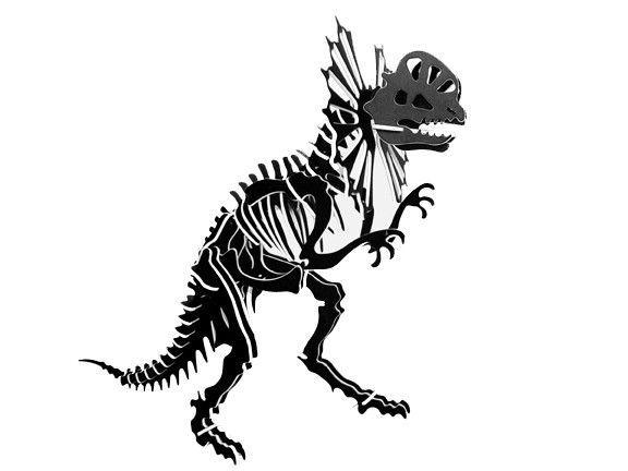 Oversized 3d Dinosaur Puzzle Dilophosaurus 34 H X 26 L 1 4