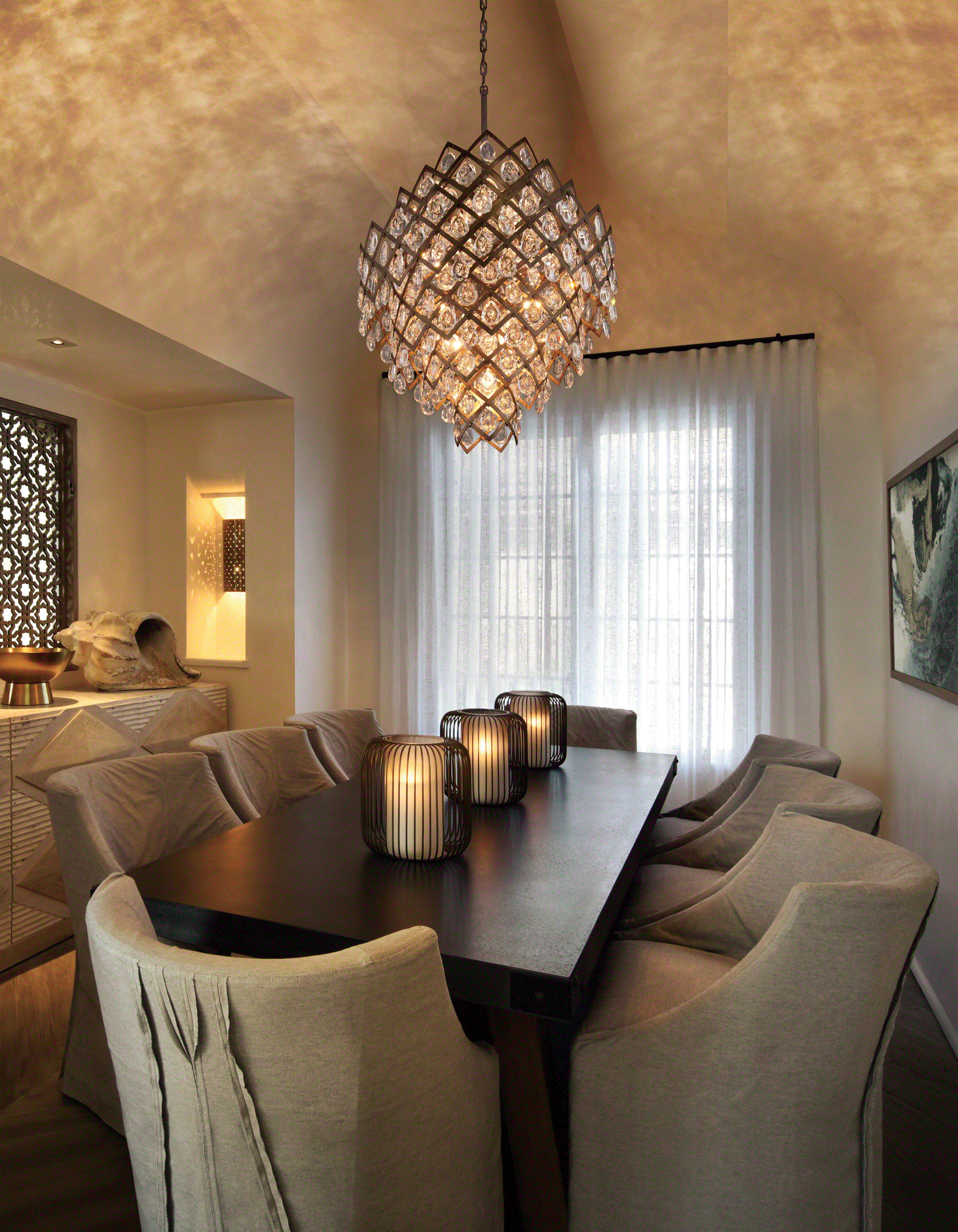 Tiara by Corbett Lighting. Fit for royalty. #interiordesign #chandelier & Tiara by Corbett Lighting. Fit for royalty. #interiordesign ...