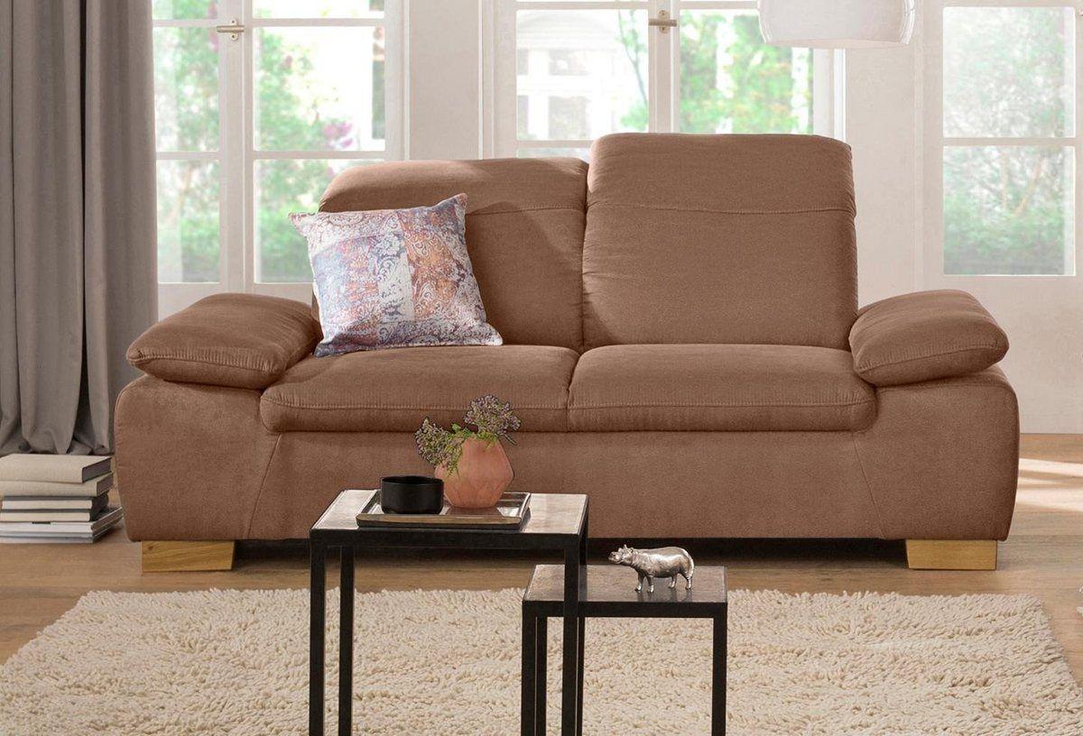 2 Sitzer Maven Mit Kopfteil Und Armlehn Verstellung Federkern Kopfteile 2 Sitzer Sofa
