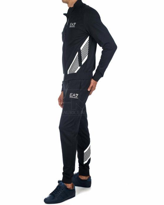 bd6422ea1bc9 Chandal EA7 Armani Azul Marino - 7 Lines in 2019 | Mens Sports Wear ...