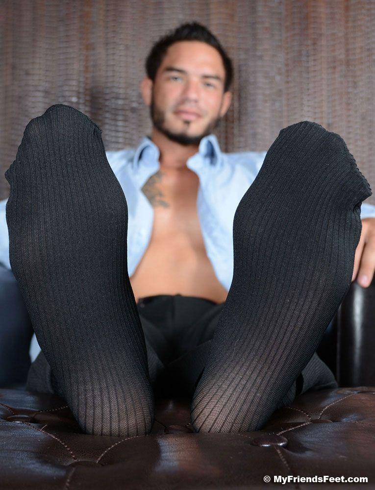 Gay sock and foot fetish