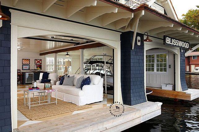 Blisswood Cottage Boathouse Designed By Muskoka Living