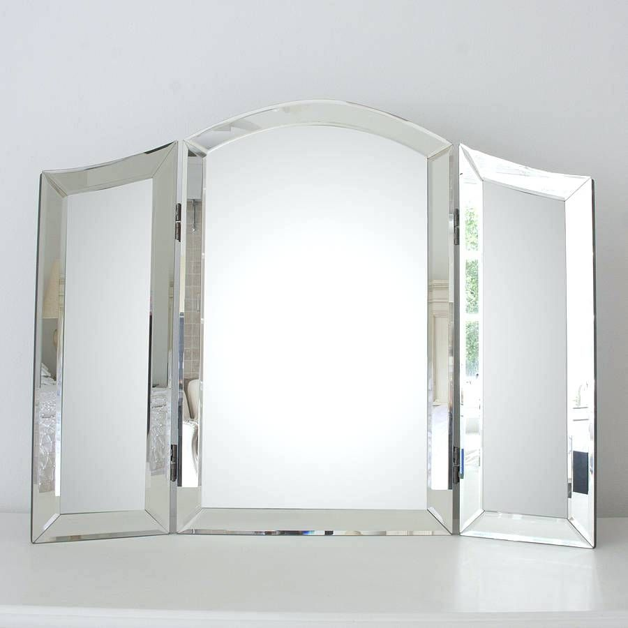 Dressing table with mirror white triple mirror dressing table  bedroom design  pinterest