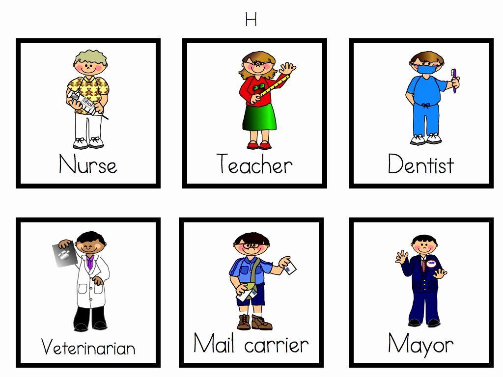 Worksheets For Kindergarten Community Helpers In