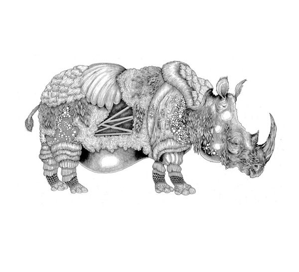 Drawings Of Animals And Stuff By Robert Amador Via Behance