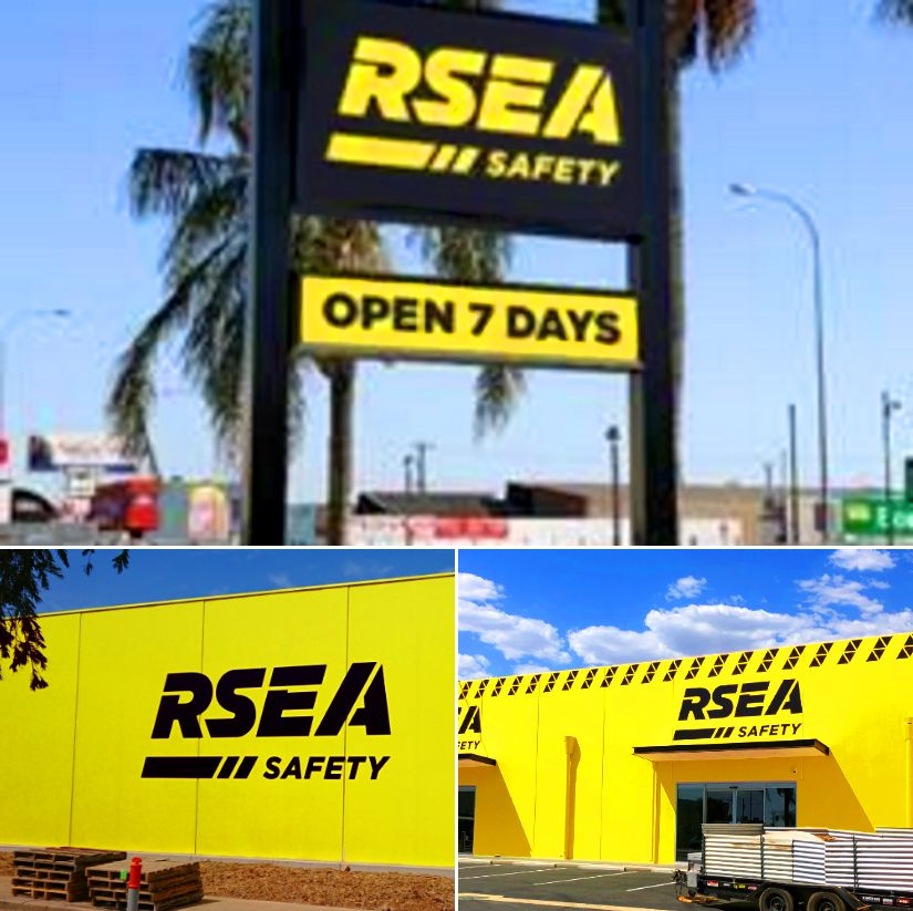 cd2bf3c4655 Melrose Park RSEA Safety Australia site completed, great job by the ...