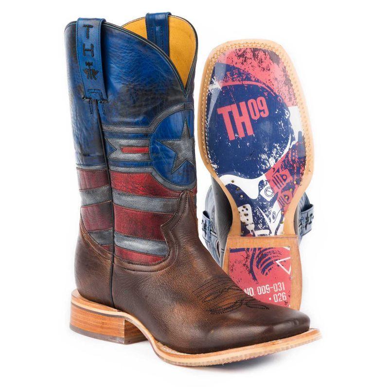 Tin Haul Mens Justice Air Force Pilot Boots 7 5d Statelinetack Com Tin Haul Boots Boots Men Justice Boots