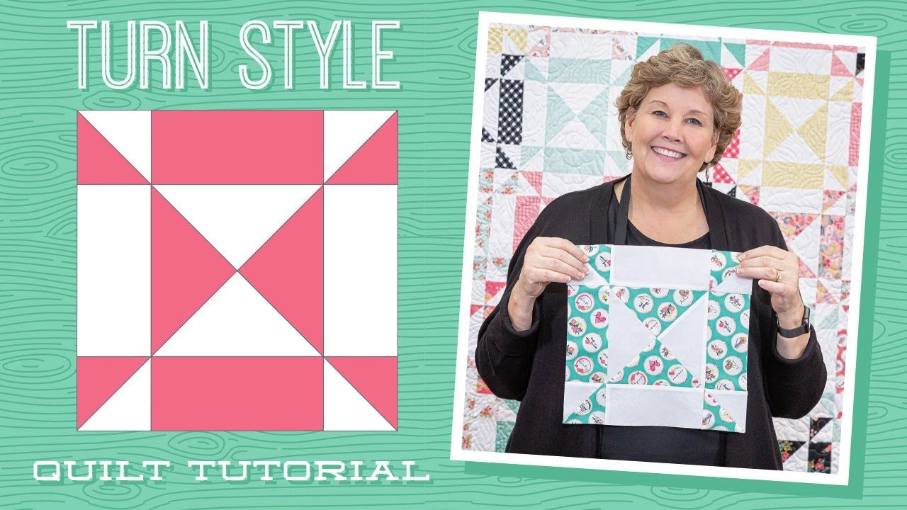 Make A Turn Style Quilt With Jenny Doan Of Missouri Star Video Tuto Missouri Star Quilt Company Tutorials Missouri Star Quilt Company Missouri Quilt Company