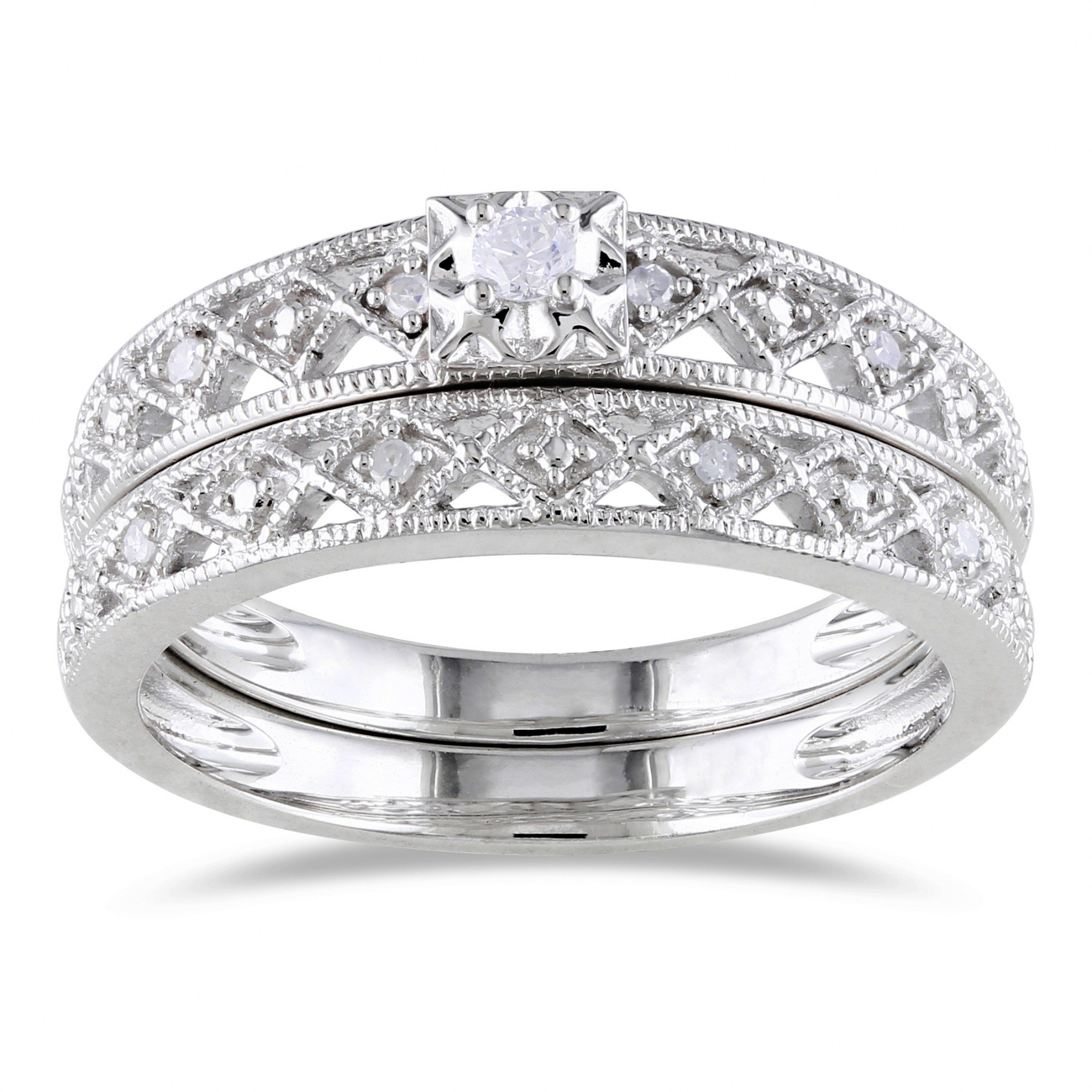 32 Stunning Silver Wedding Rings For Men And Women