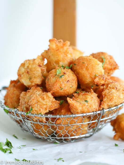 Salt fish fritters recipe fish saltfish fritters and for Caribbean fish recipes