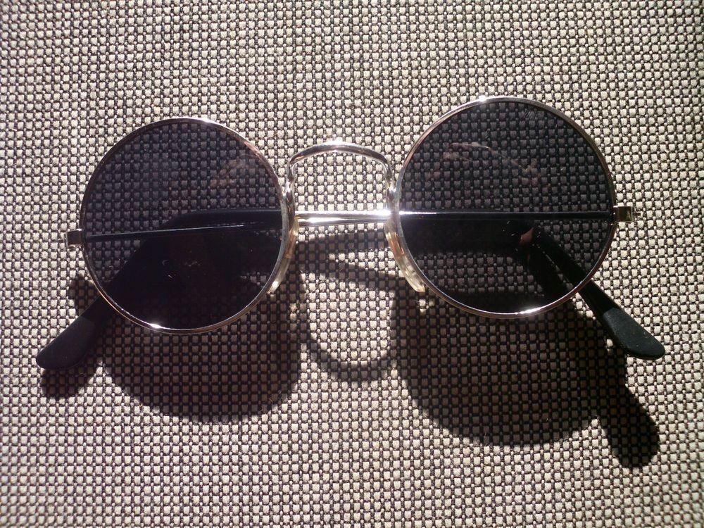 GAFAS DE SOL Con Lentes Redondes STYLE Nr.2a hippie goa retro óculos de sol  70s 392dcf3683e9