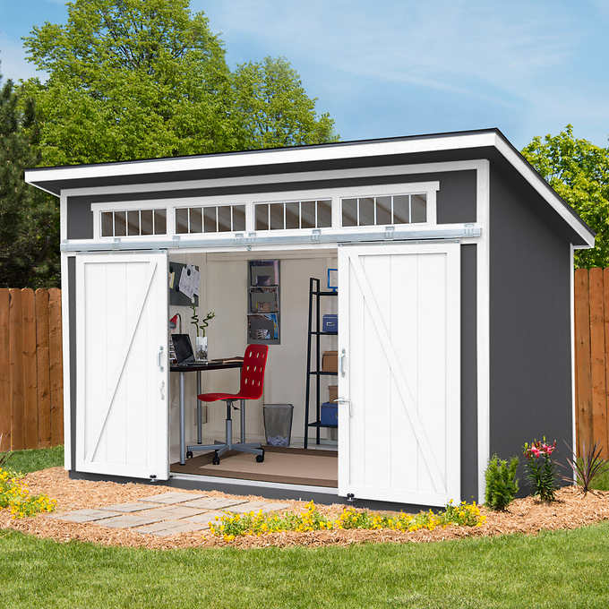 Pin By David Eaton On Landscape Ideas In 2020 Barn Style Doors Wood Storage Sheds Storage Shed
