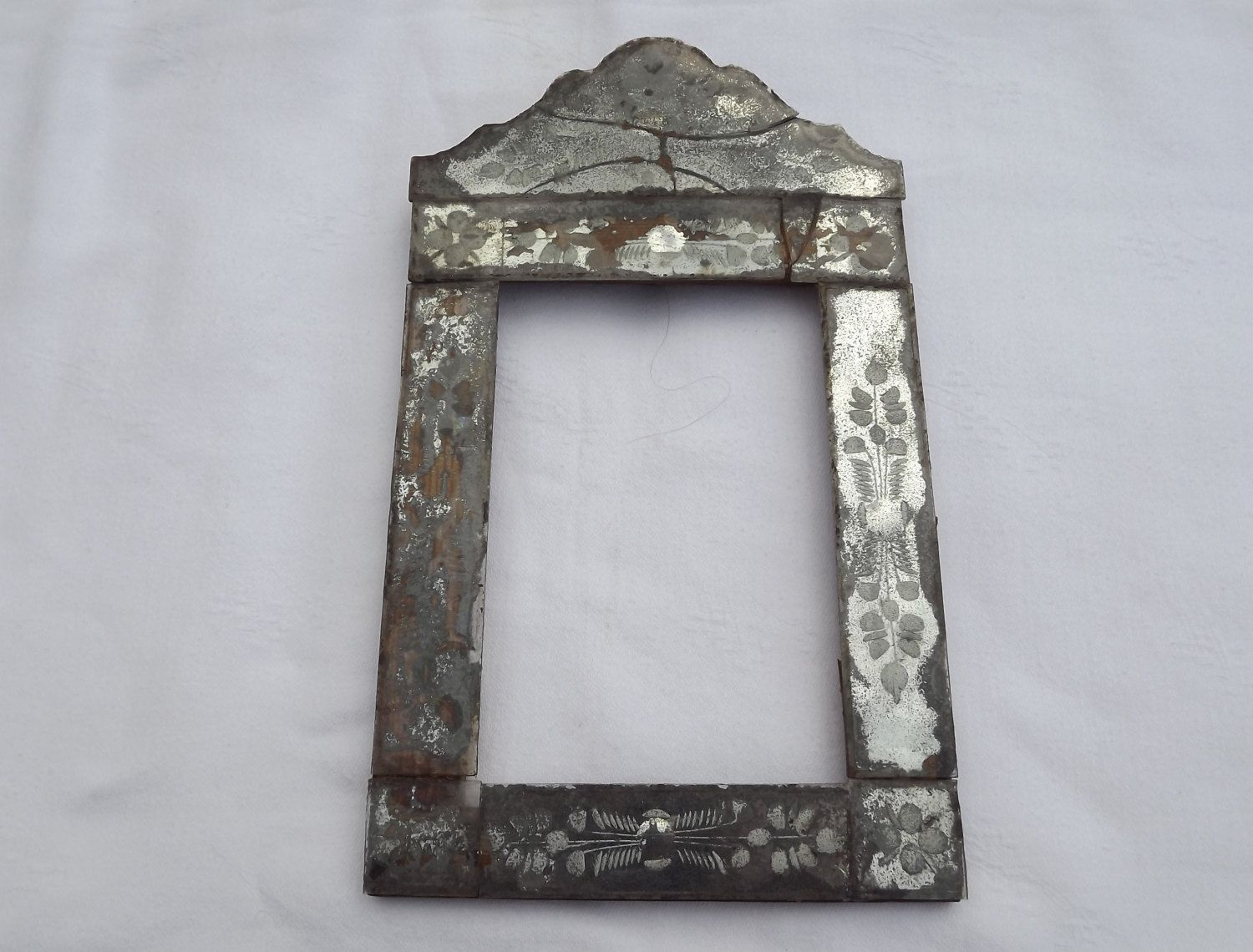 Antique, Frame, Venetian Glass, Mirror Glass, Mirrored, Picture ...