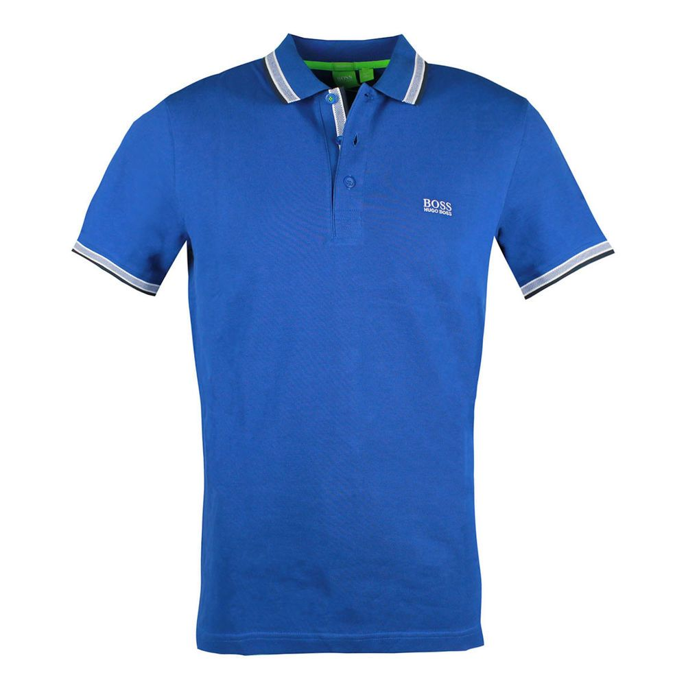 e9f84b128 Hugo Boss paddy men's blue regular fit polo rugby shirt 50198254 #HUGOBOSS  #Rugby