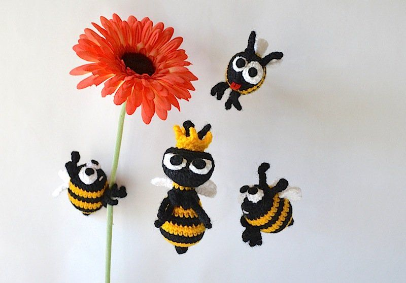 26 Beautiful Crochet Bee Patterns