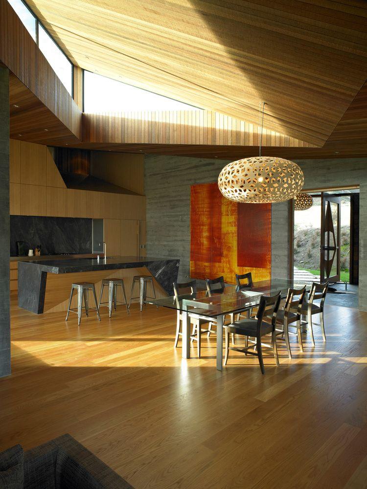 Gallery Of Te Kaitaka Stevens Lawson Architects 2 New Zealand Houses Architect Interior Architecture