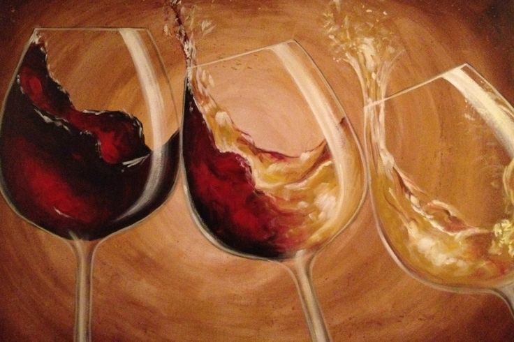 Painted wine pic misc pinterest art google glass for Can i paint glass with acrylic paint