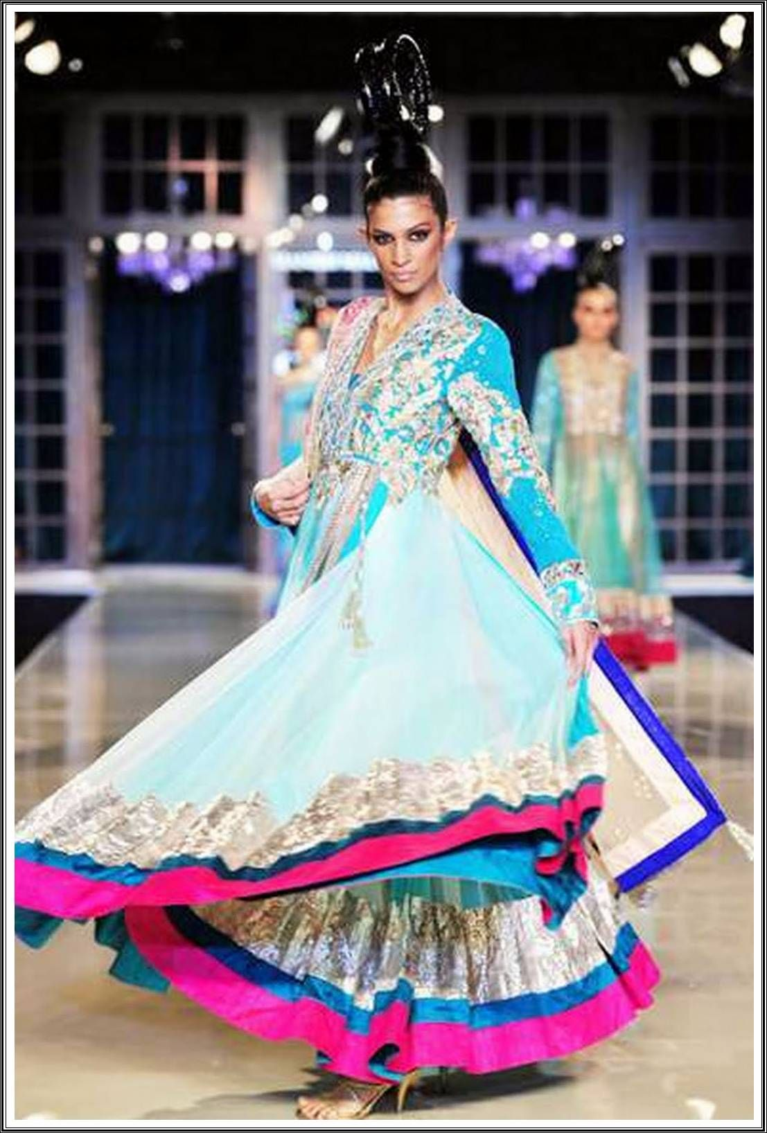 Lehenga By Manish Malhotra colors | the royal indian bride | Pinterest