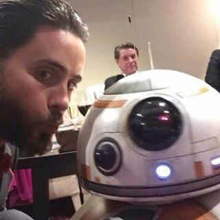 #jaredleto #bb8 #starwars #oscar2016 #joker #suicidesquad