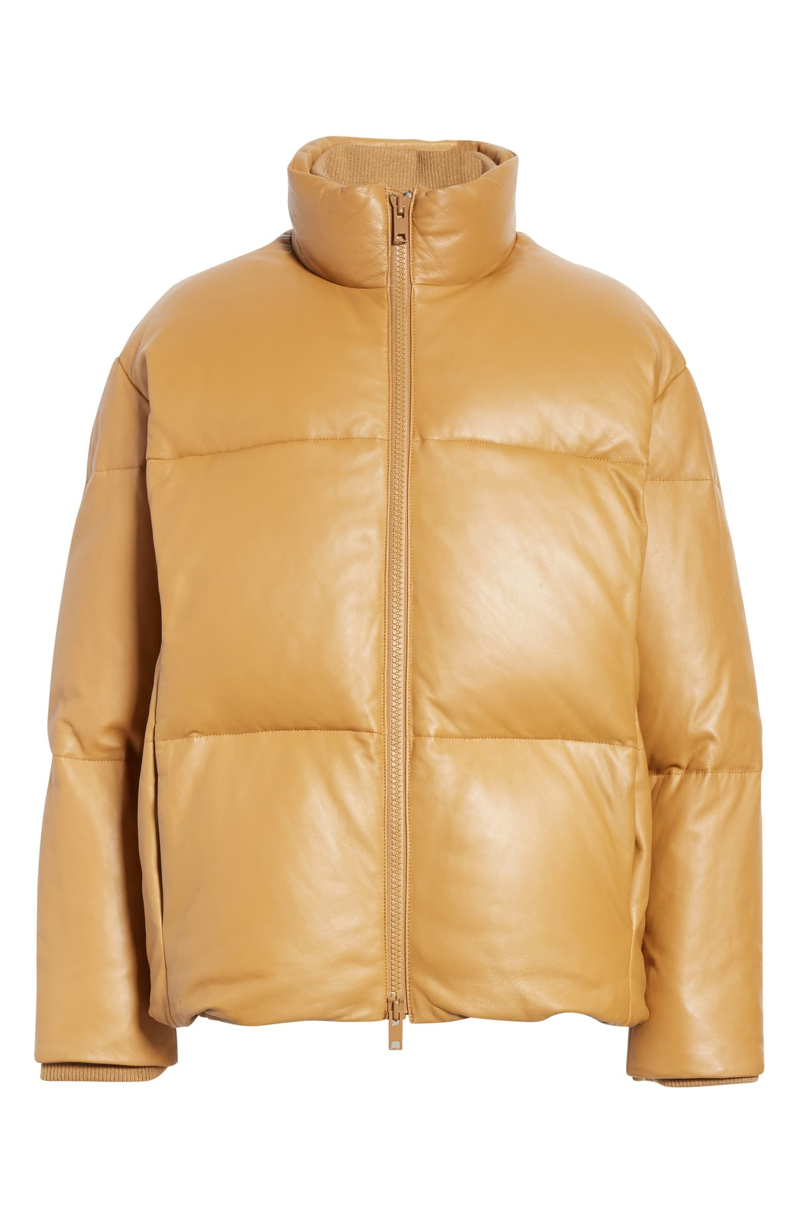 Vince Down Leather Puffer Jacket Nordstrom Leather Puffer Jacket Puffer Puffer Jackets [ 2392 x 1560 Pixel ]