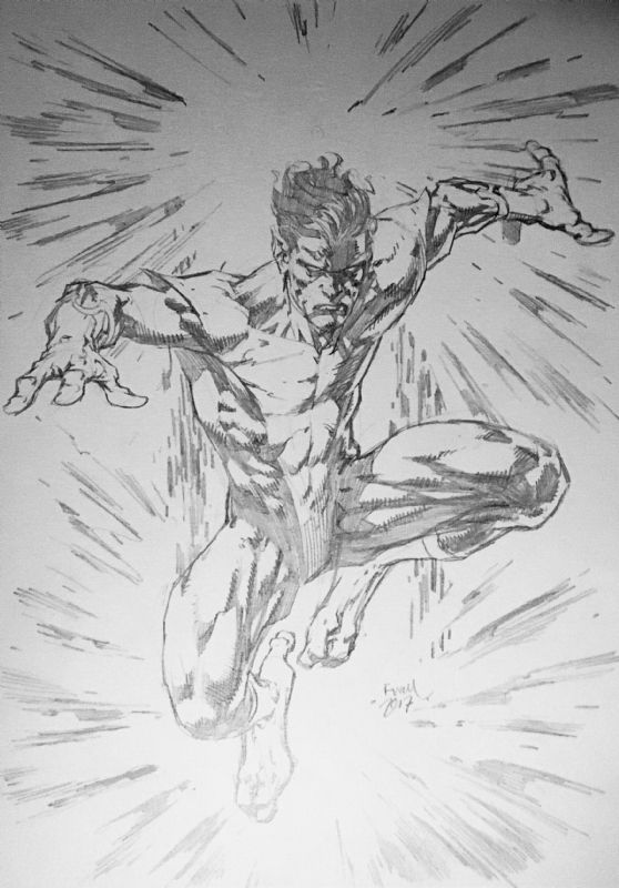 Nightcrawler By David Finch Comic Art Nightcrawler Art David Finch Comic Art