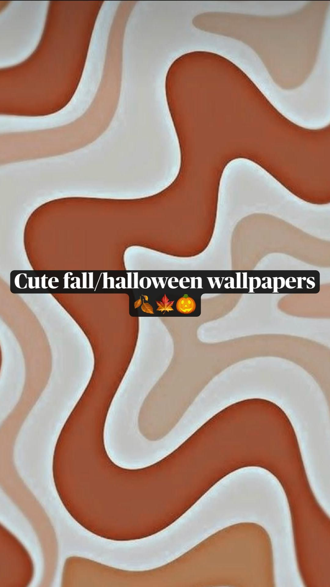 Cute fall/halloween wallpapers 🍂🍁🎃