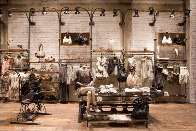 Inspiration Slides Clothing Store Design Retail Interior Design All Saints Shop