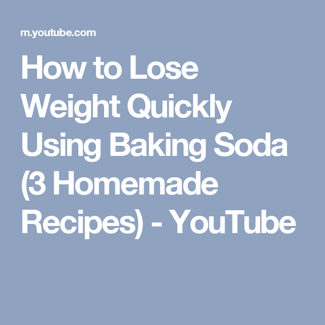 How to lose weight quickly using baking soda 3 homemade recipes how to lose weight quickly using baking soda 3 homemade recipes youtube ccuart Choice Image