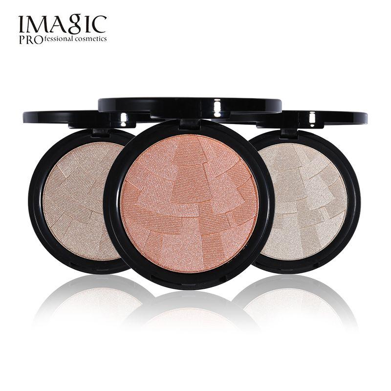 3 Colore Evidenziatore Polvere Imagic Marca Illuminante Viso Fondazione Colore Opaco Palette Evidenziare Contour Bronzer Make up Set