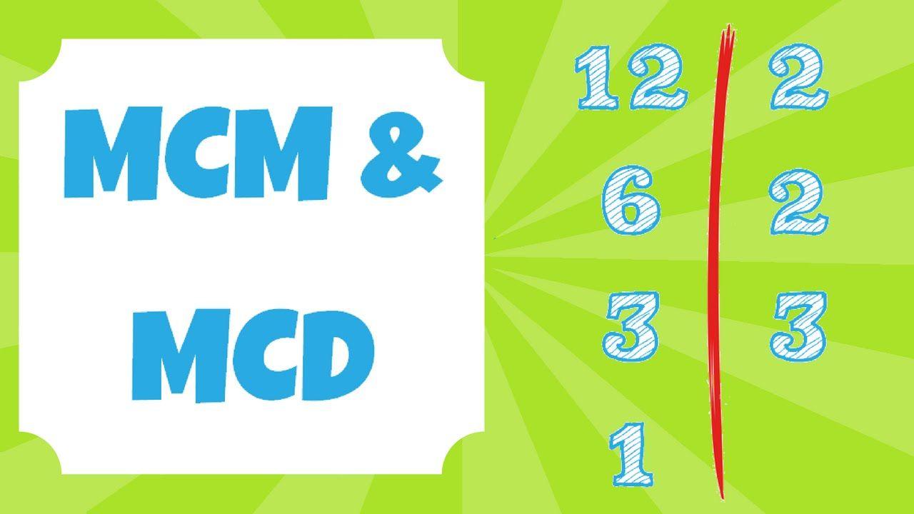 Mínimo Común Múltiplo y Máximo Común Divisor (mcm y MCD) | LUMYA ...