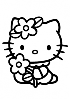 Cartoons Coloring Pages For Kids Free Printable Hello Kitty Coloring Hello Kitty Colouring Pages Kitty Coloring