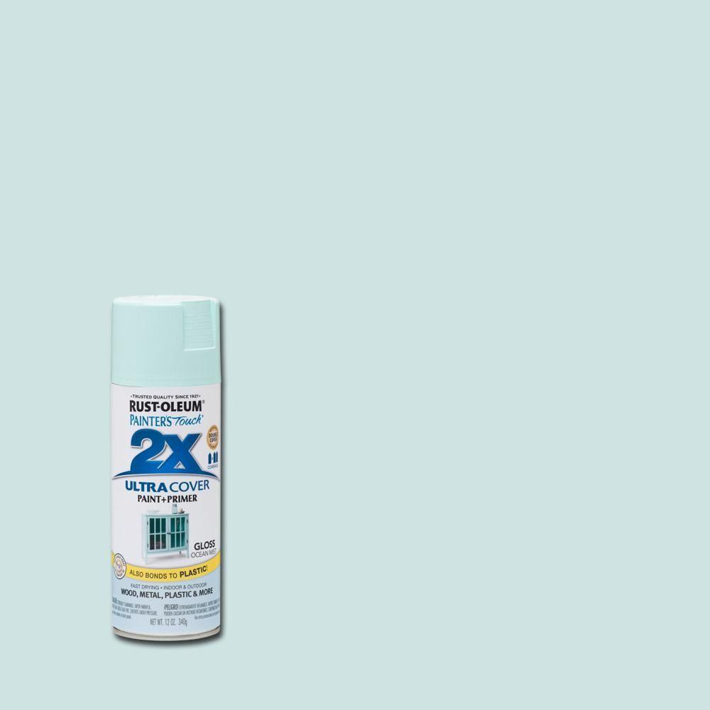 Rust-Oleum Painter's Touch 2X 12 oz  Gloss Ocean Mist