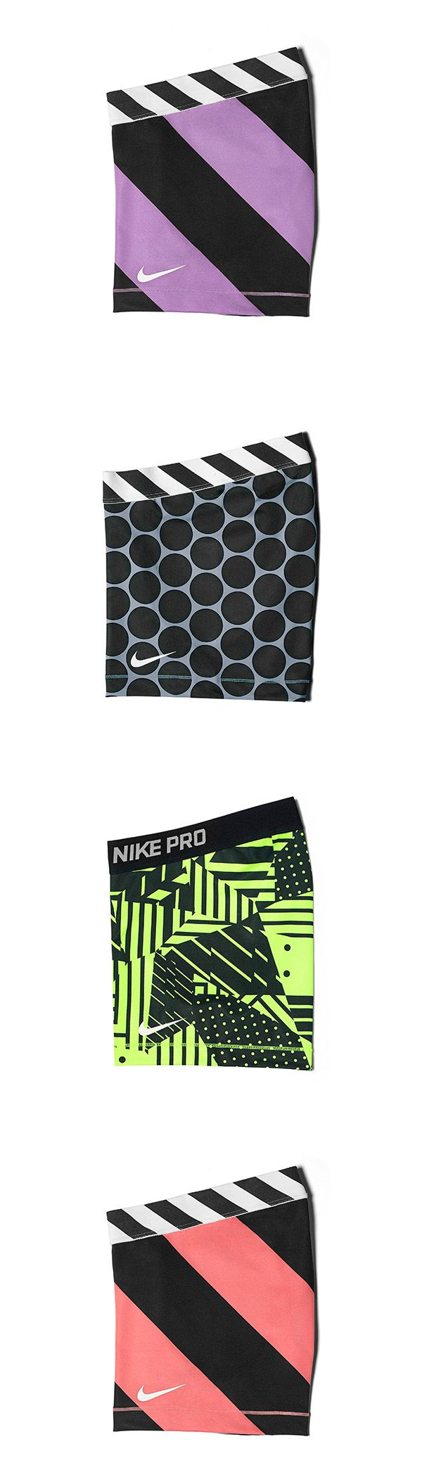 "Mix and match for a bold new summer look. This print to train outside. That pattern for the gym. Make it your own with the Nike Pro 3"" shorts."