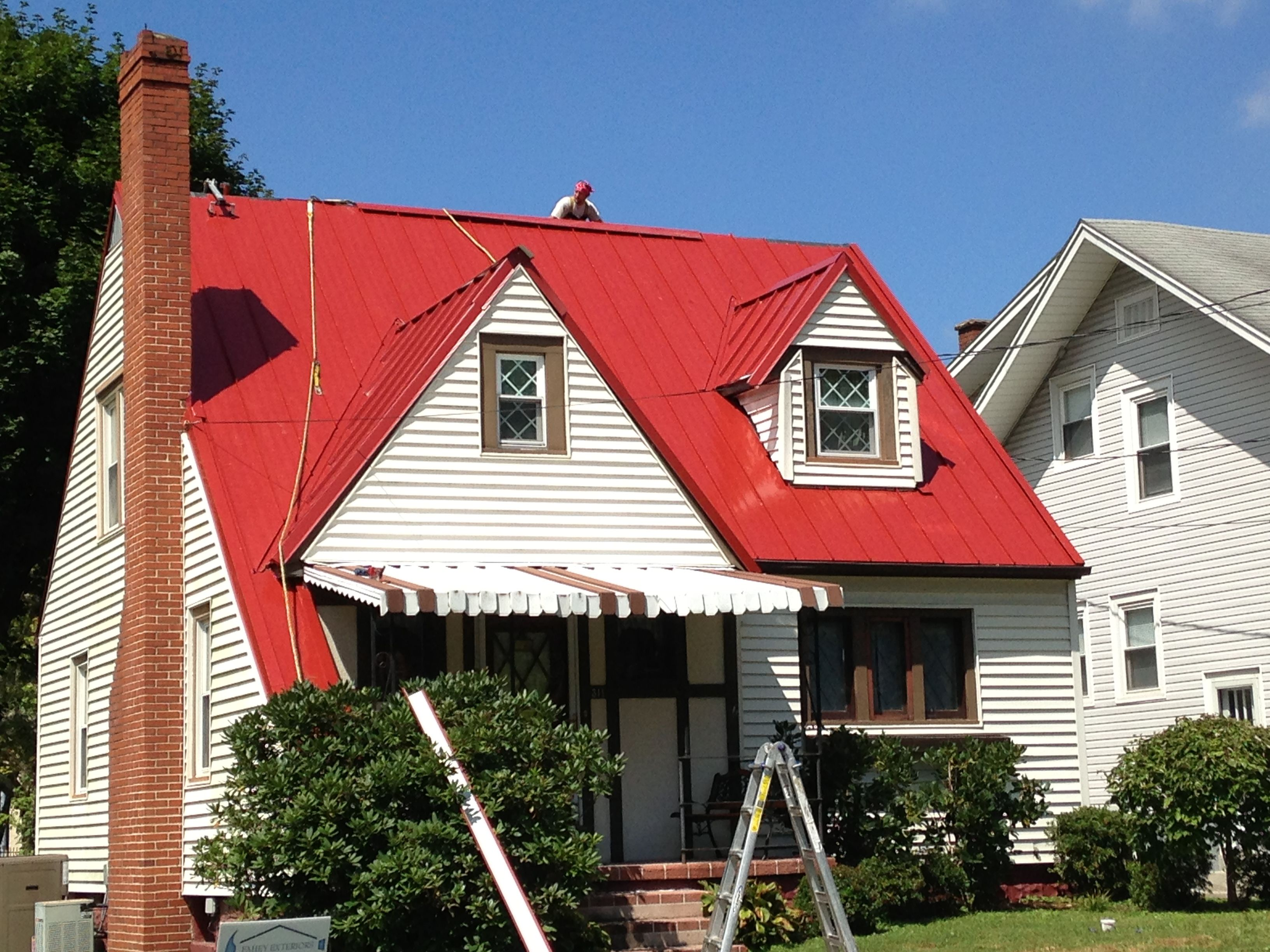 Terra Cotta Standing Seam Charleston Wv Metal Roof