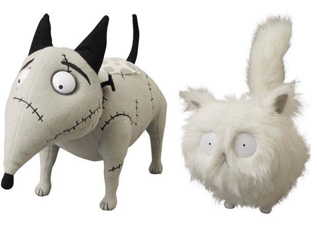 Even More Medicom Frankenweenie Toys Turn Up Tomopop Art Dolls Tim Burton Style Halloween Craft Projects