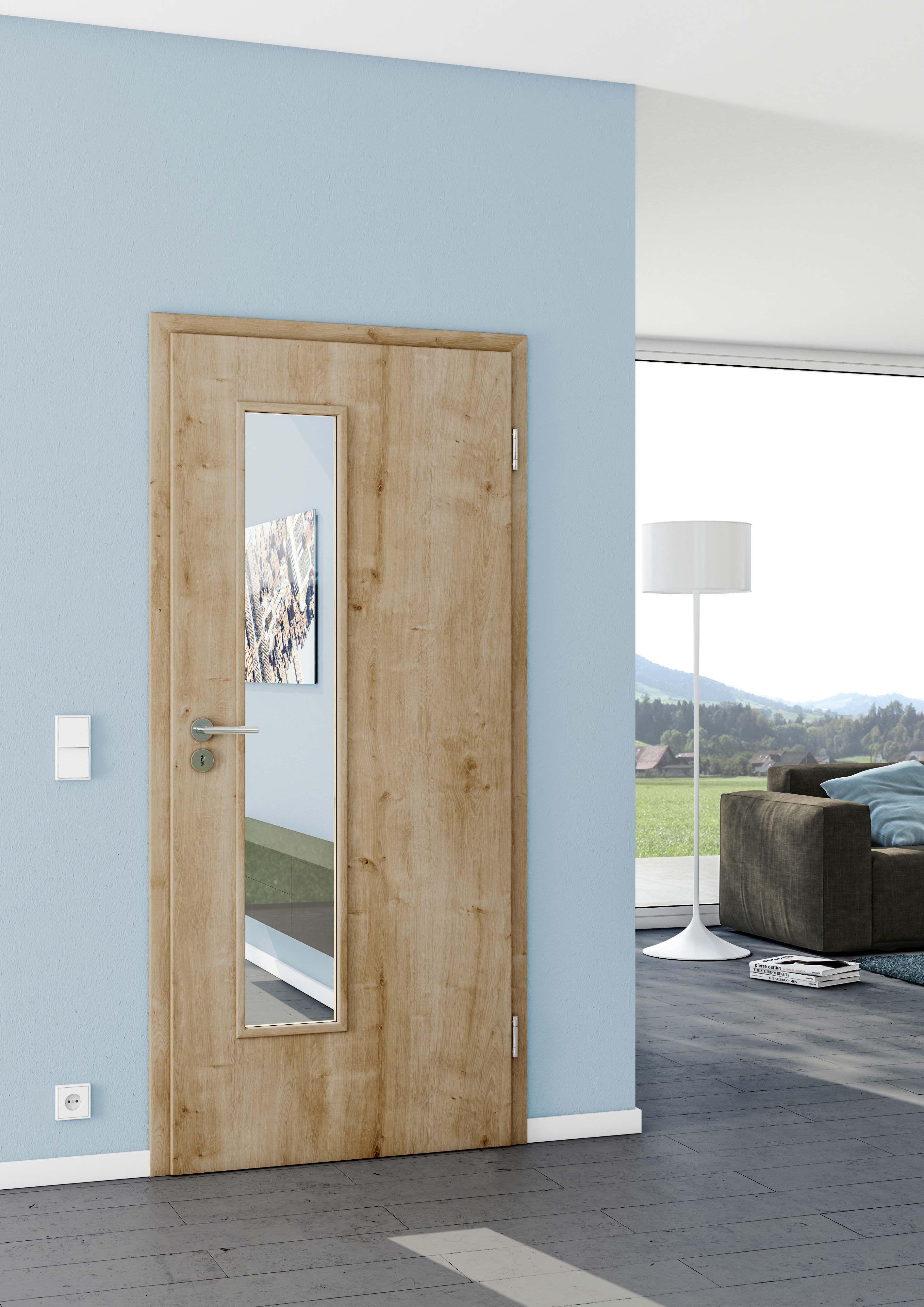 Lichtdurchlässige Innenraumtüren sorgen für Durchblick und