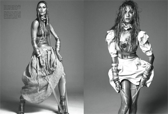 Gisele - Italian Vogue